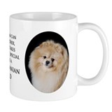 Pomeranian Dad Small Mugs