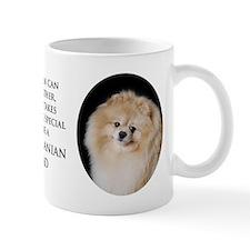 Pomeranian Dad Small Mugs