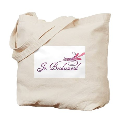 Pink/Purple Deco Jr. Bridesmaid Tote Bag