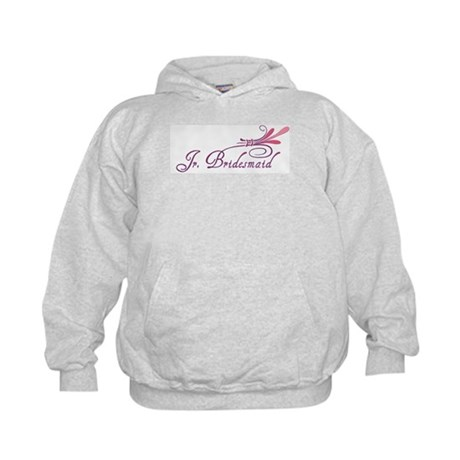 Pink/Purple Deco Jr. Bridesmaid Kids Hoodie