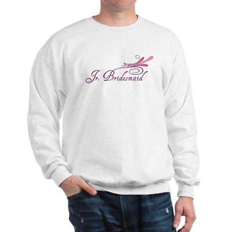Pink/Purple Deco Jr. Bridesmaid Sweatshirt