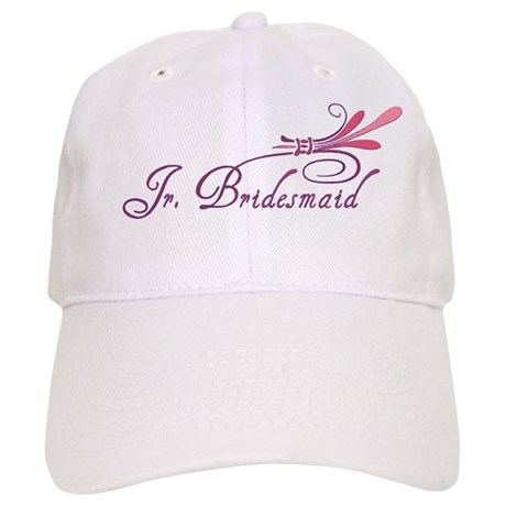 Pink/Purple Deco Jr. Bridesmaid Cap