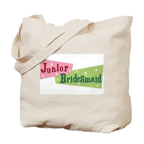 Retro Junior Bridesmaid Tote Bag