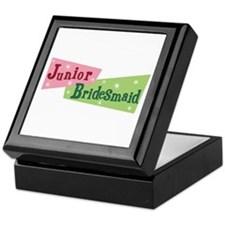 Retro Junior Bridesmaid Keepsake Box