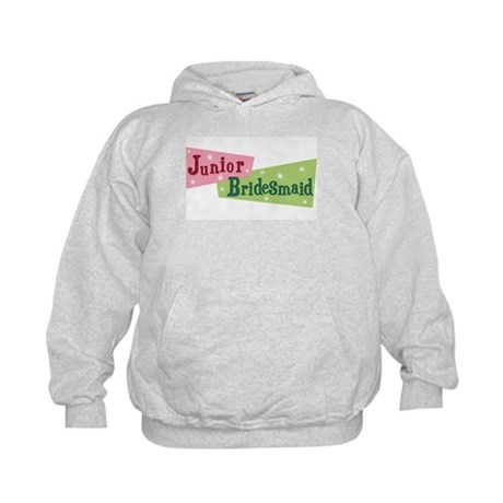 Retro Junior Bridesmaid Kids Hoodie