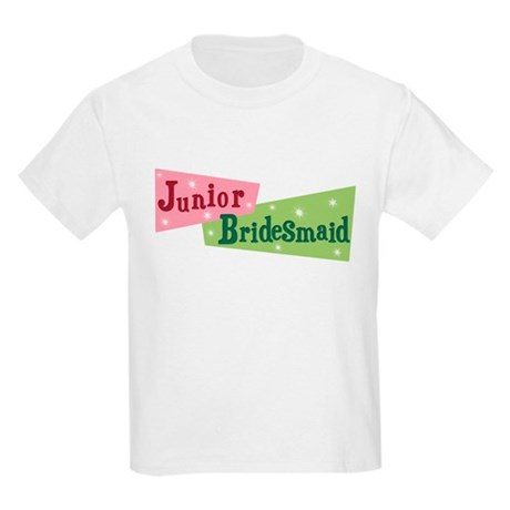 Retro Junior Bridesmaid Kids T-Shirt