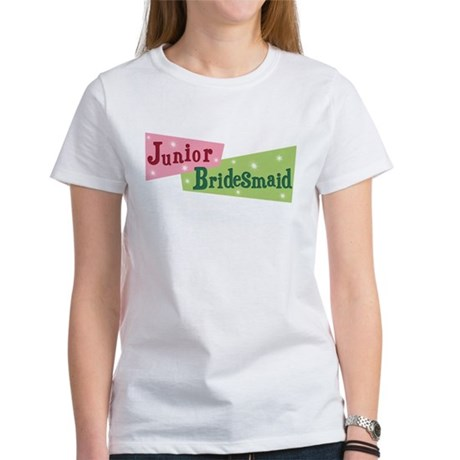Retro Junior Bridesmaid Women's T-Shirt