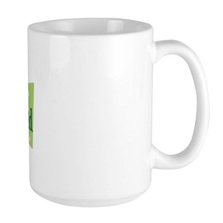 Retro Junior Bridesmaid Large Mug