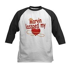 Marvin Lassoed My Heart Kids Baseball Jersey