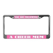 Cheer Mum License Plate Frame