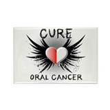 Cure Oral Cancer Rectangle Magnet (100 pack)