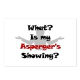 What? Asperger's Postcards (Package of 8)