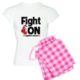 Fight On Oral Cancer pajamas