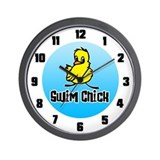 Swim Chick Wall Clock