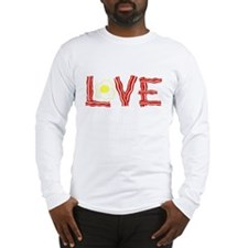 Love Bacon and Eggs Long Sleeve T-Shirt