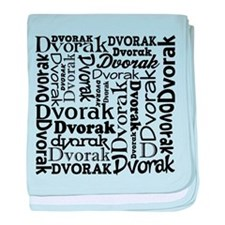 Dvorak Lover Music baby blanket