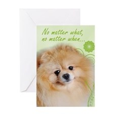 Pomeranian Love/Support Card