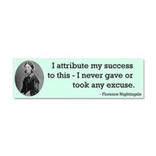 Florence Nightingale Car Magnet 10 x 3