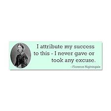 Florence Nightingale Car Magnet 10 x 3