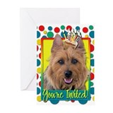Invitation Cupcake - Australian Terrier Greeting C