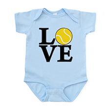 Tennis LOVE Infant Bodysuit