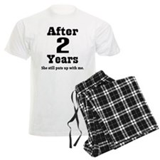 2nd Anniversary Funny Quote Pajamas