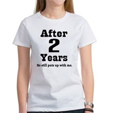 2nd Anniversary Funny Quote Tee