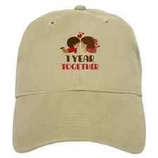 1 Year Together Anniversary Hat
