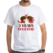 3 Years Together Anniversary Shirt