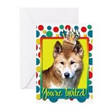 Invitation Cupcake - Dingo Greeting Cards (Pk of 2