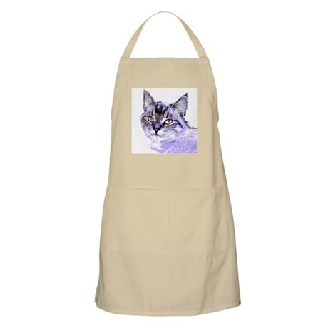 Purple Cat BBQ Apron
