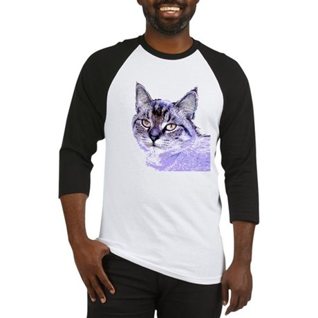Purple Cat Baseball Jersey