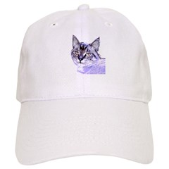 Purple Cat Cap