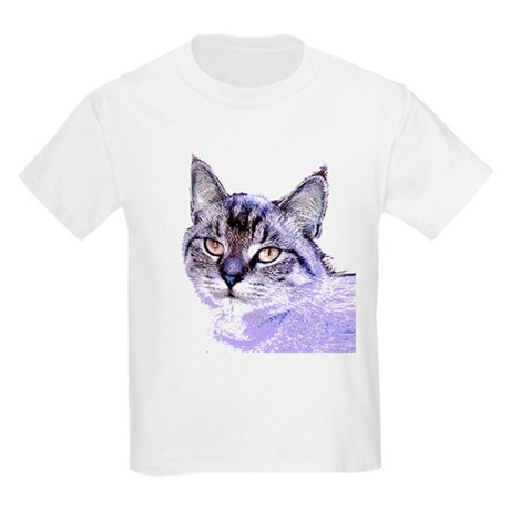 Purple Cat Kids T-Shirt