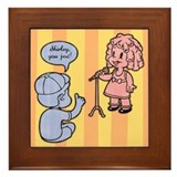 Shirley, You Jest! Framed Tile