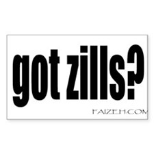 got zills? Sticker (Rectangular)