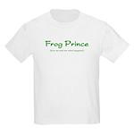 Frog Prince...Kiss Me Kids T-Shirt