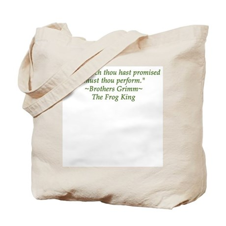 Thou hast promised... Tote Bag