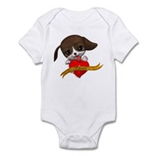Valentine Puppy Infant Bodysuit