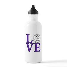 Volleyball LOVE Water Bottle