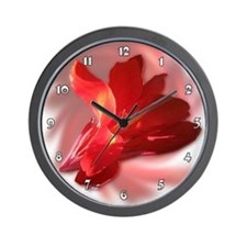 Blended Canna Wall Clock