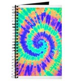 Tie Dye Trippy Journal