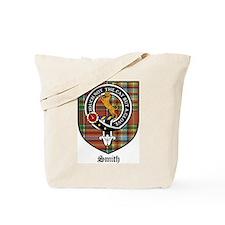 Smith Clan Crest Tartan Tote Bag