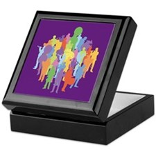 Marching Band Music Collage Keepsake Box