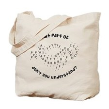 Drill Chart Marching Band Tote Bag