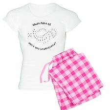 Drill Chart Marching Band Women's Light Pajamas