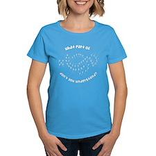 Drill Chart Marching Band Women's Dark T-Shirt