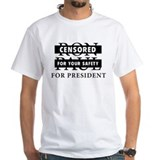 Ron Paul for President Censored Tee