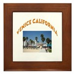 Venice California Framed Tile