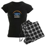 Venice California Women's Dark Pajamas